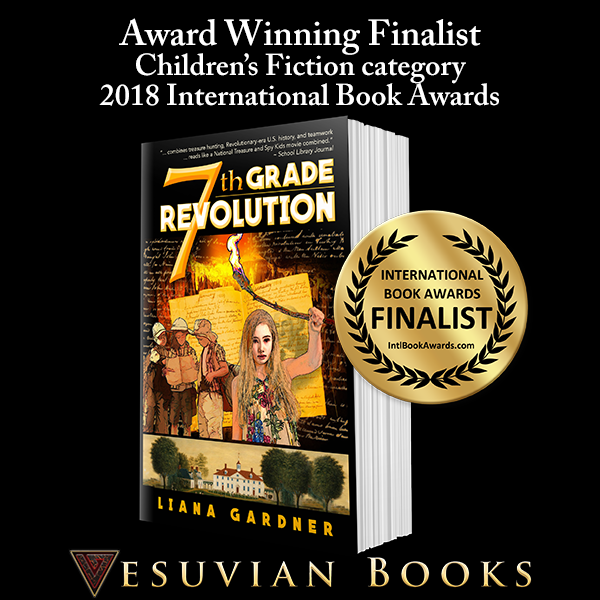 7th Grade Revolution Finalist in 2018 International Book Award Competition