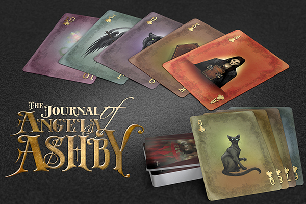 The Journal of Angela Ashby Playing Cards